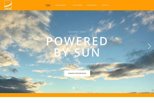 Webdesign Grafikdesign Solkraft GmbH
