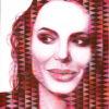 Angelina I / Acryl auf Leinwand 100x120cm © Rita Stern Miltenberg