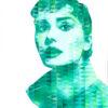 Audrey III / Acryl auf Leinwand 100x120cm © Rita Stern Miltenberg