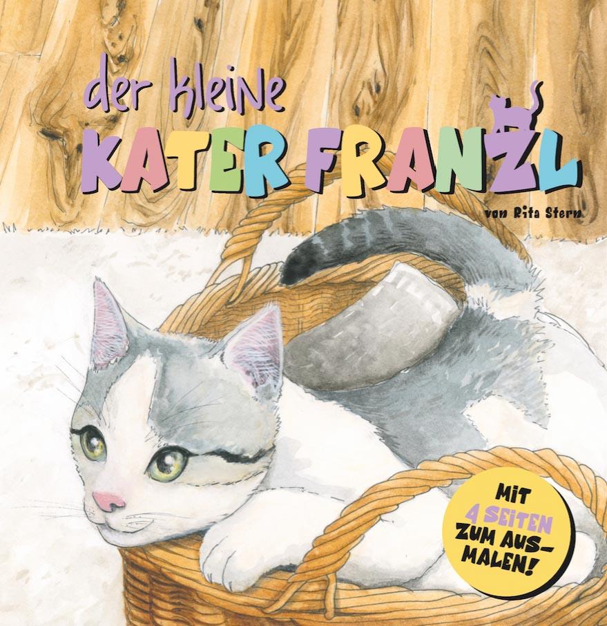 Cover Buch Der kleine Kater Franzl © Rita Stern Miltenberg