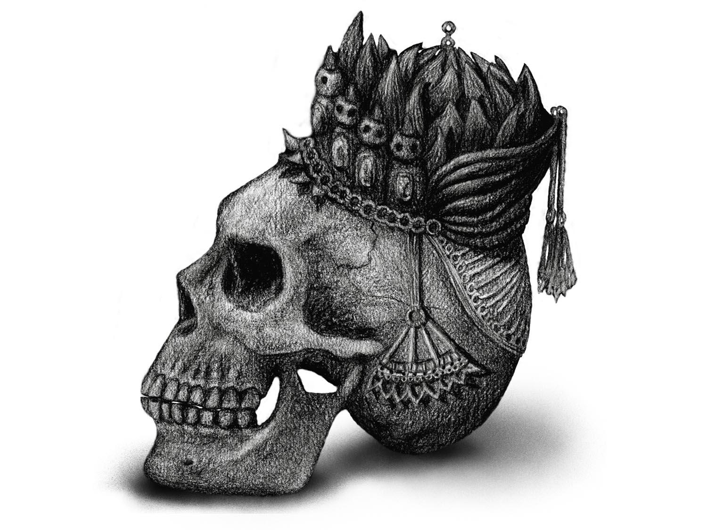 Kohlezeichnung digitalisiert © Rita Stern Illustration Miltenberg