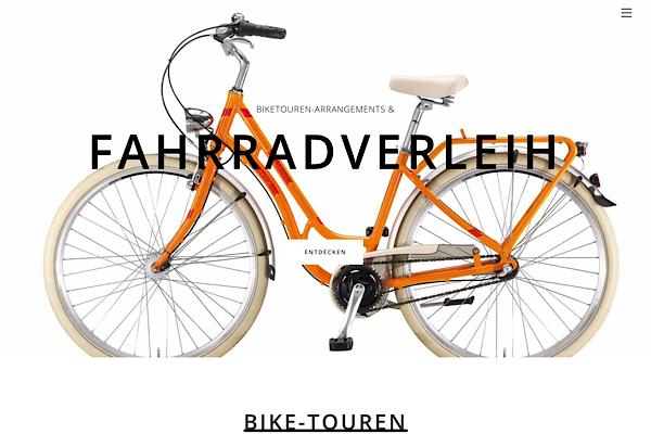 Webdesign Fahrradverleih Miltenberg