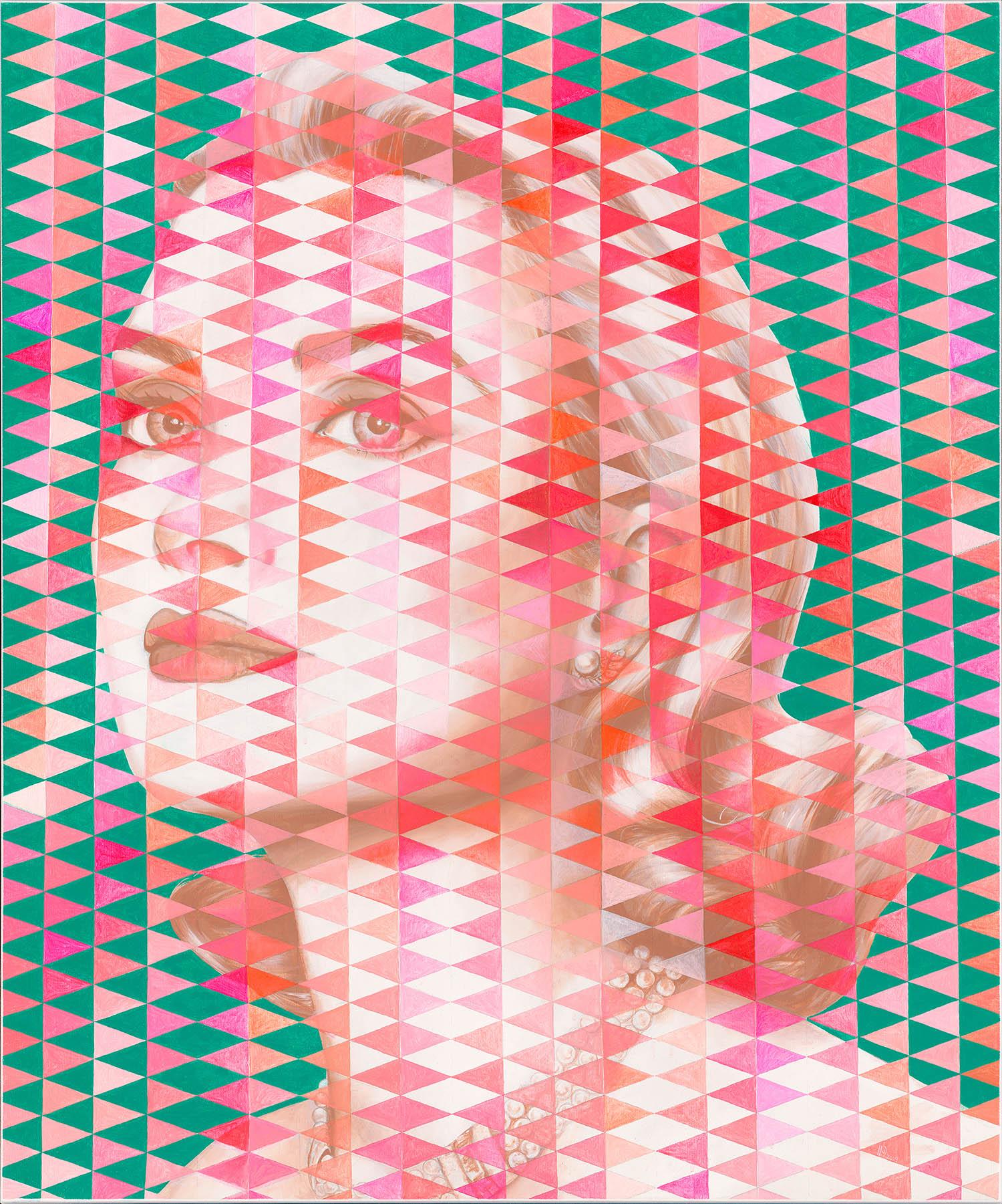 Gracia Patricia I / Acryl auf Leinwand 100x120cm © Rita Stern Miltenberg