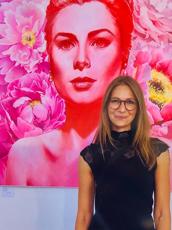 Rita Stern & Gracia Patricia im vienna art market 2020 © Rita Stern Miltenberg