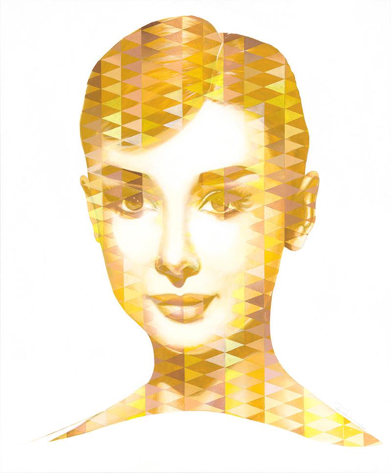Audrey II / Acryl auf Leinwand 100x120cm © Rita Stern Miltenberg