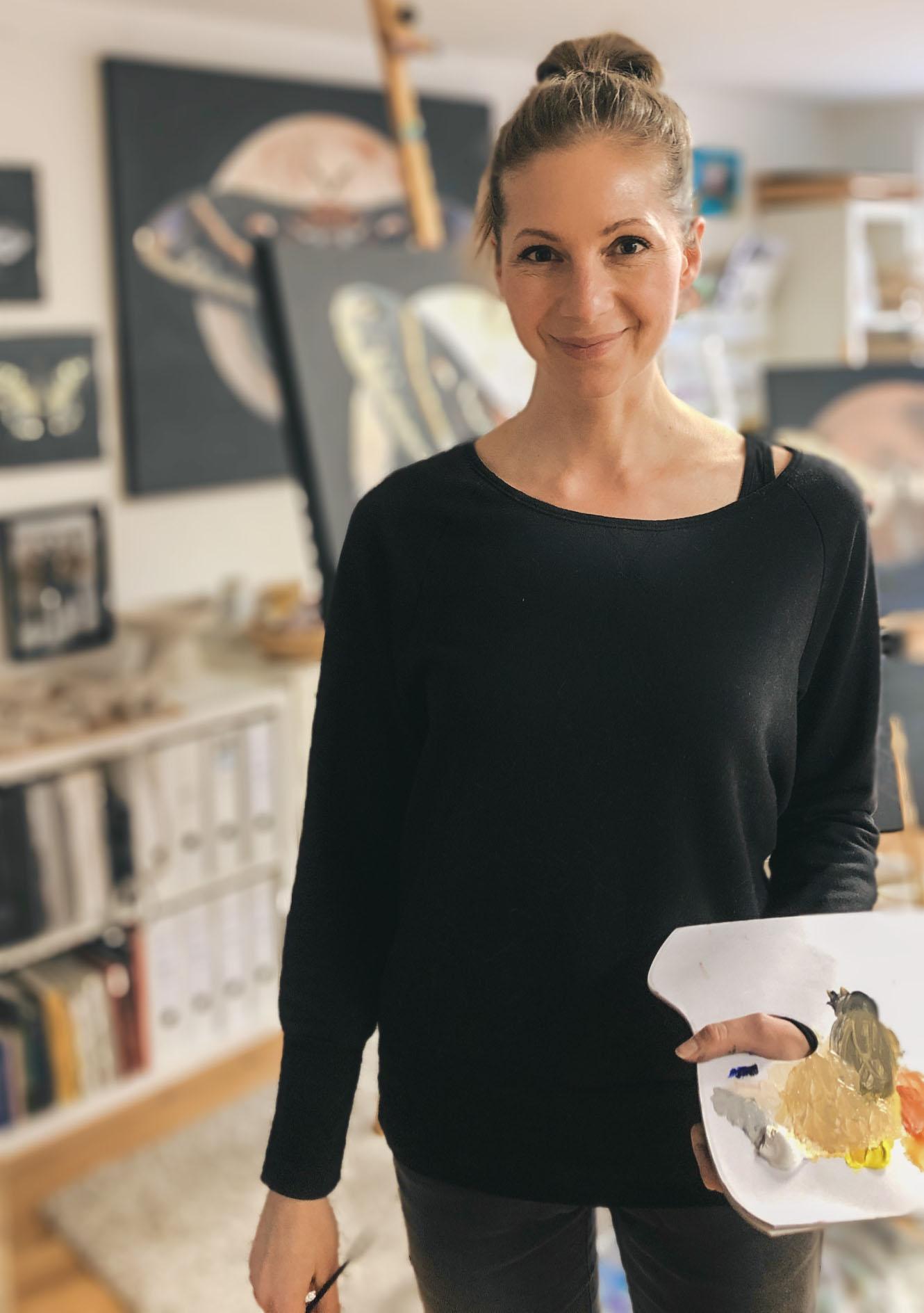 Im Atelier © Rita Stern Miltenberg