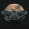 Mars & Wiener Nachtpfauenauge 50x50cm / Serie: Nachtschwärmer © Rita Stern Kunst Miltenberg