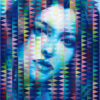 Monica I / Acryl auf Leinwand 100x120cm © Rita Stern Miltenberg