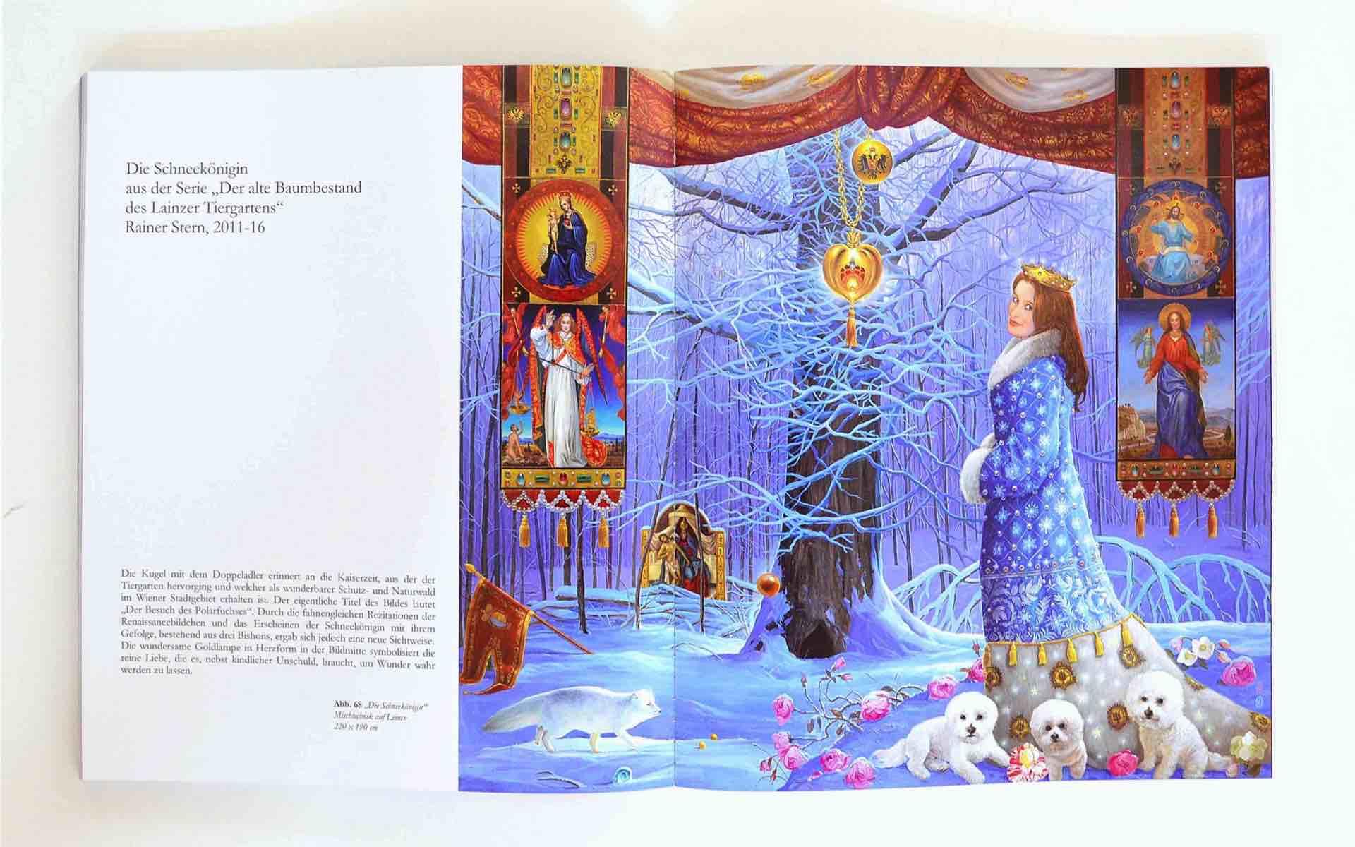 Grafikdesign Buchdesign 217 Seiten / Künstler Rainer Stern