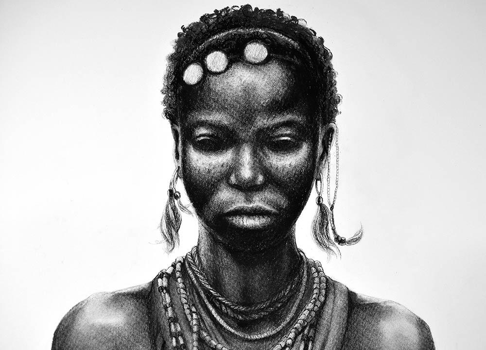 Ausschnitt Tanz der Massai © Rita Stern Miltenberg