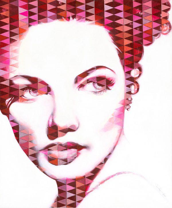 Gene I / Acryl auf Leinwand 100x120cm © Rita Stern Miltenberg