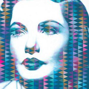 Gene II / Acryl auf Leinwand 100x120cm © Rita Stern Miltenberg