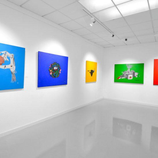 Ausstellung in den eigenen Galerieräumen 2016